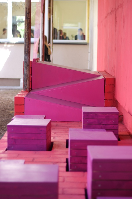 movable boxes for outdoor classroom